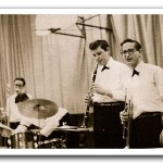 "Baron Byng High School Band ""Breaking it up for Briegel"" 1961 Courtesy of Gladys Barg Blank (BBHS '61)"