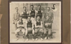 Senior basketball team 1925-26, courtesy of Seymour Lutterman, son of Jack Lutterman  (BBHS '26)