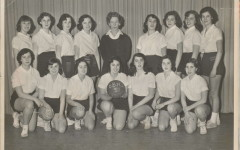 Basketball team, 1951, courtesy of Sally Perlman (BBHS '52)