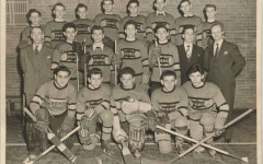 Hockey team,  1947,   courtesy of Max Palayew (BBHS '47)