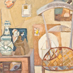 Tobie Steinhouse, Atelier Paris , oil,  1949, courtesy of the artist