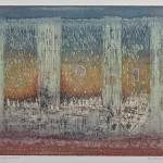 Tout un monde, etching, 1986. collection of the artist