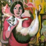 Cats, cats, cats, Acrylic, 2009, courtesy of the artist