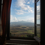Pienza From My Window, Photograph on fine art paper, 2013,   33 x 23 in, courtesy of the artist
