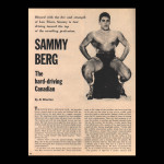Article on his career in wrestling