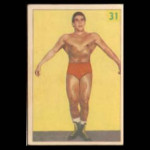 1950's Wrestling Trading Card