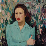 Lilly (Courtship), Oil on canvas, 1941, 55.5 x 51 cm, Purchase, William Gilman Cheney Bequest, Coll. The Montreal Museum of Fine Arts, Photo Christine Guest, MMFA