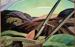 Anne Savage, The Plough,  oil on canvas, 1931-33, Montreal Museum of Fine Arts – Gift of Arthur B. Gill, © The Montreal Museum of Fine Arts.
