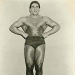 Body building promotional photograph, courtesy of George Sand (BBHS '59)